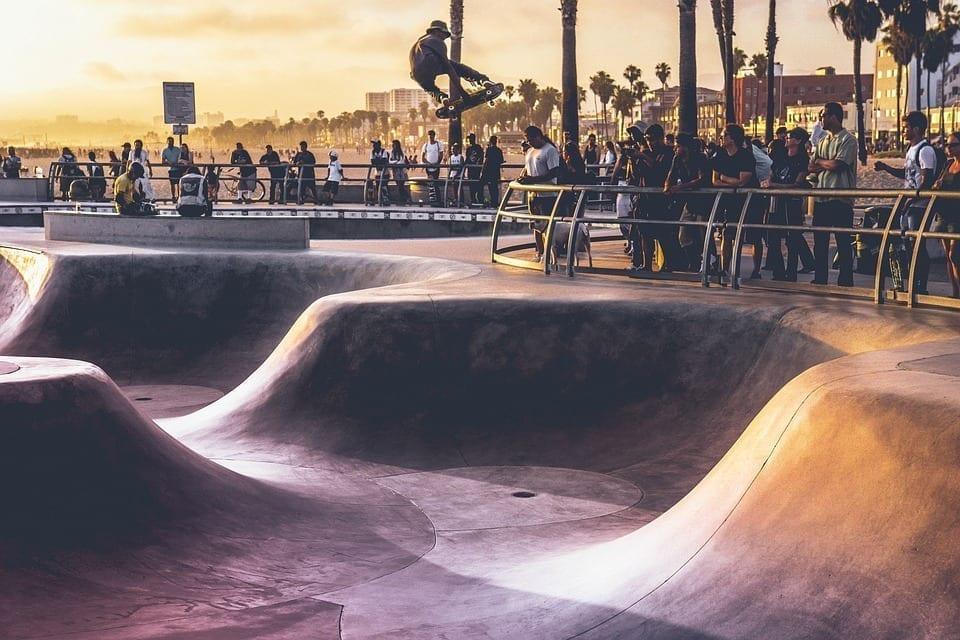 Image of a skate park