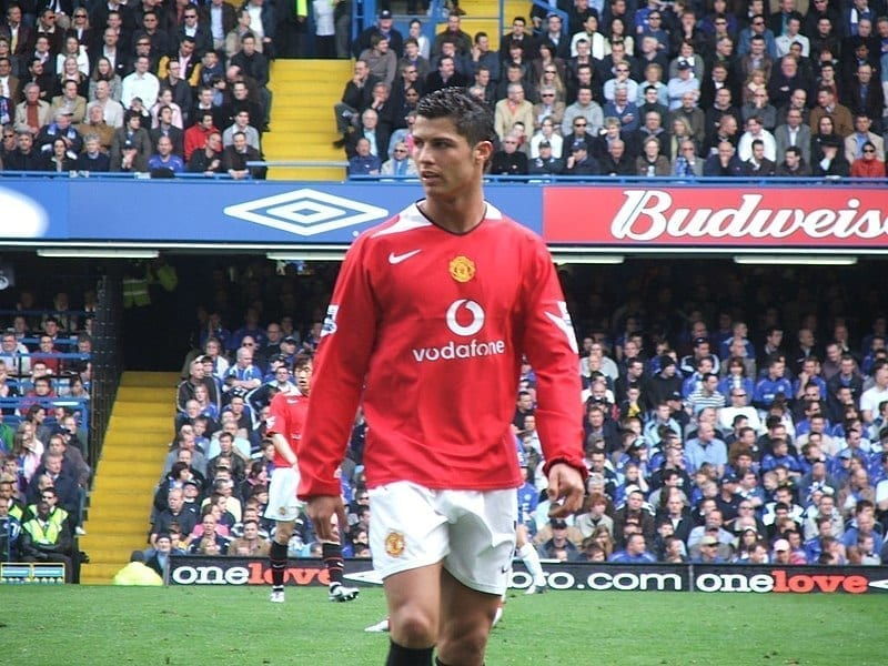 Image of Soccer Player Cristiano Ronaldo