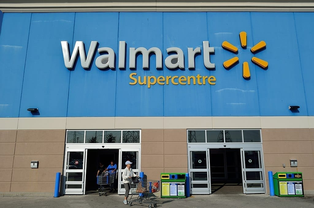 Image of a Walmart Store
