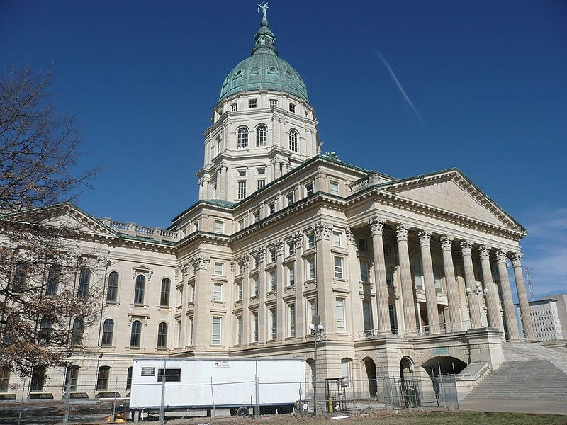 Image of the Kansas State Capitol
