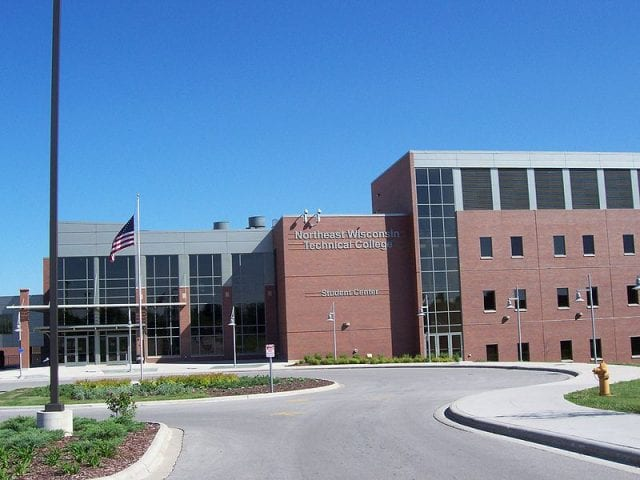 Image of Northeast Wisconsin Technical College Student Center
