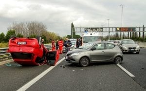 Image of a Scene of a Car Accident