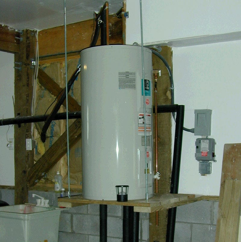 Image of a water heater