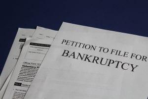 Petition to file for bankruptcy; image by Melinda Gimpel, via Unsplash.com.