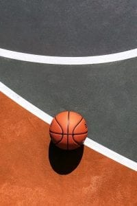 Picture of a basketball; image courtesy of tommy bebo on Unsplash; www.unsplash.com