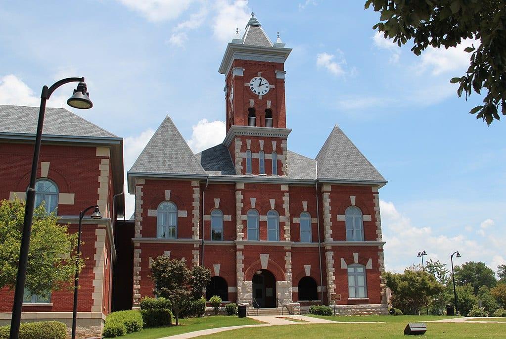 Clayton County courthouse in Jonesboro