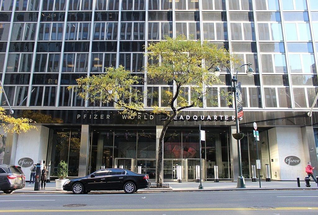 Pfizer World Headquarters in Manhattan, New York, New York