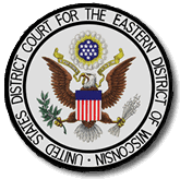 Seal of the United States District Court for the Eastern District of Wisconsin