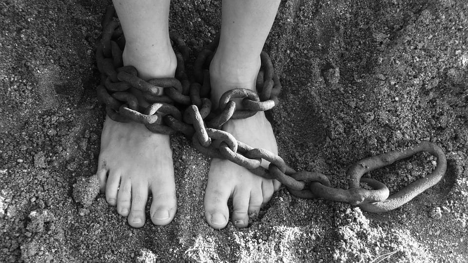 Image of Shackled Feet