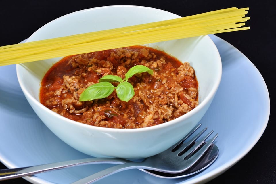 Bowl of Meat Sauce