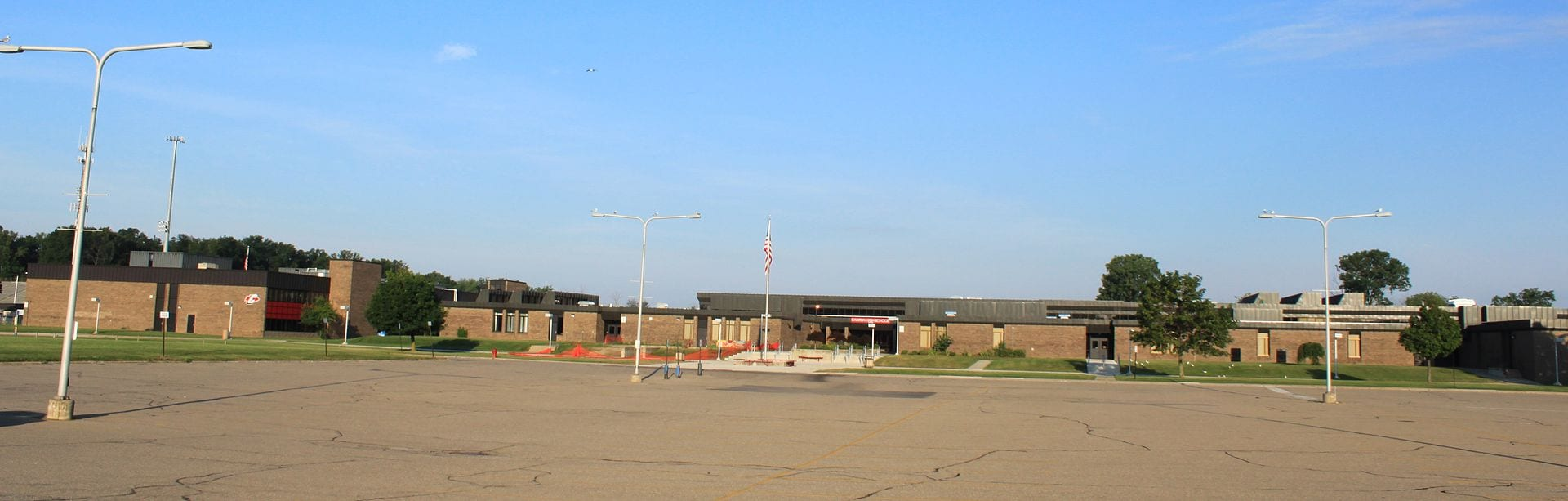 Canton High School, within the Plymouth-Canton Educational Park