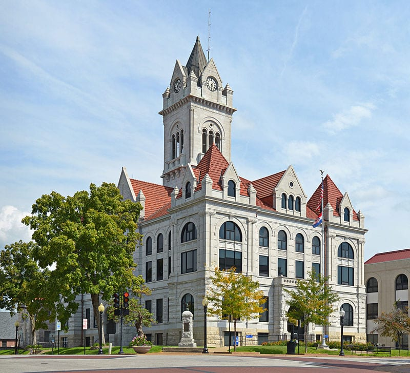 Cole County Courthouse, Jefferson City, Missouri
