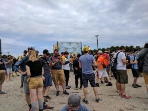 Players during the Pokémon Go Fest in Chicago in 2017