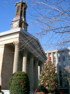 Chester County Courthouse in West Chester, Pennsylvania