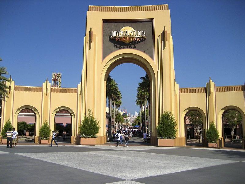 Entrance to Universal Studios Florida