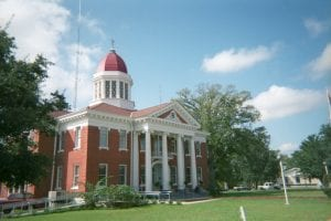 George County courthouse in Lucedale, Mississippi, United States