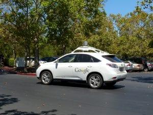 Google self-driving car; image via pxhere.com, CC0.