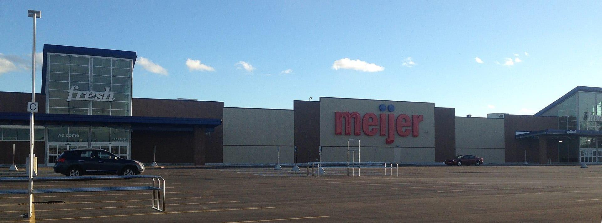 Meijer store in Alpena, Michigan