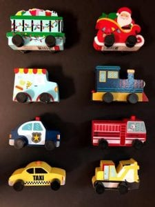 Recalled Bullseye Playground Toy Vehicles
