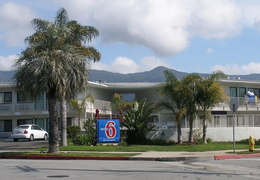 The first Motel 6 in Santa Barbara, California