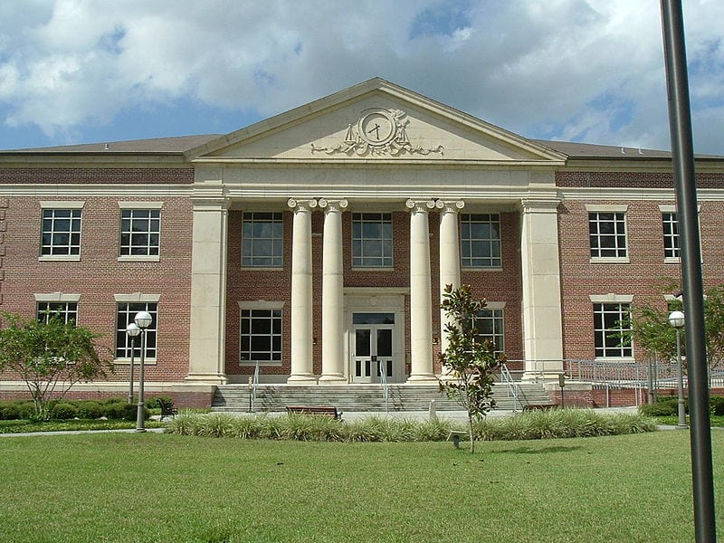 Baker County Courthouse in Macclenny