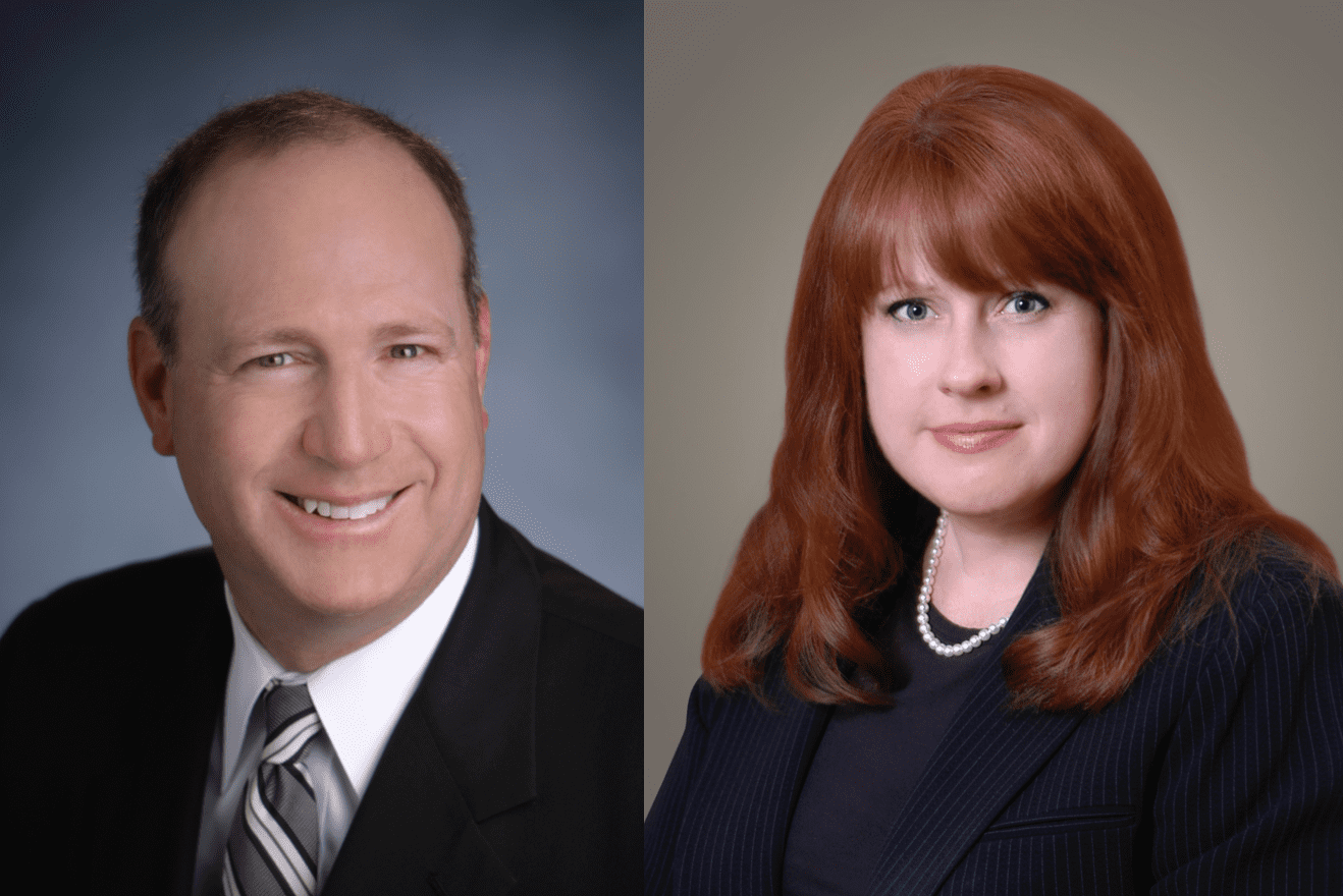 Steven D. Sallen and Michelle C. Harrell; image courtesy of Maddin Hauser.