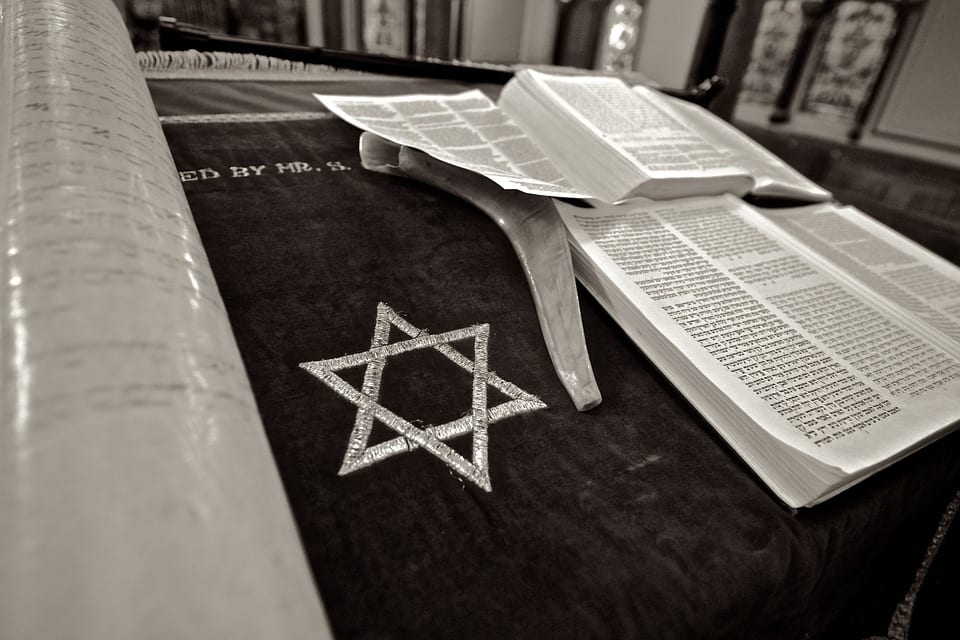 Star of David and Books