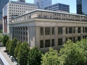 Multnomah County Courthouse in Portland, Oregon