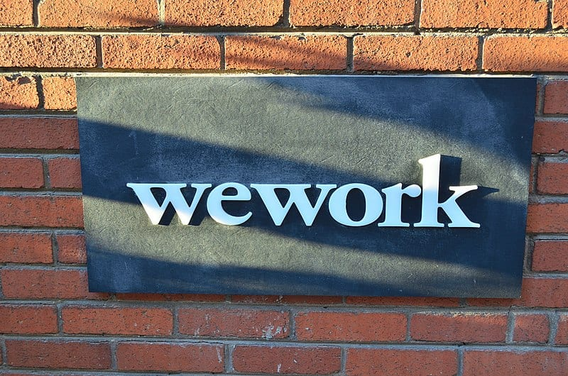 WeWork Office Sign