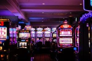 Assorted slot machines; image by Benoit Dare, via Unsplash.com.
