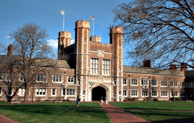 Washington University; image via wikimapia.org.