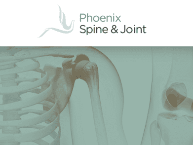 Phoenix Spine & Joint logo; image courtesy of Phoenix Spine & Joint.