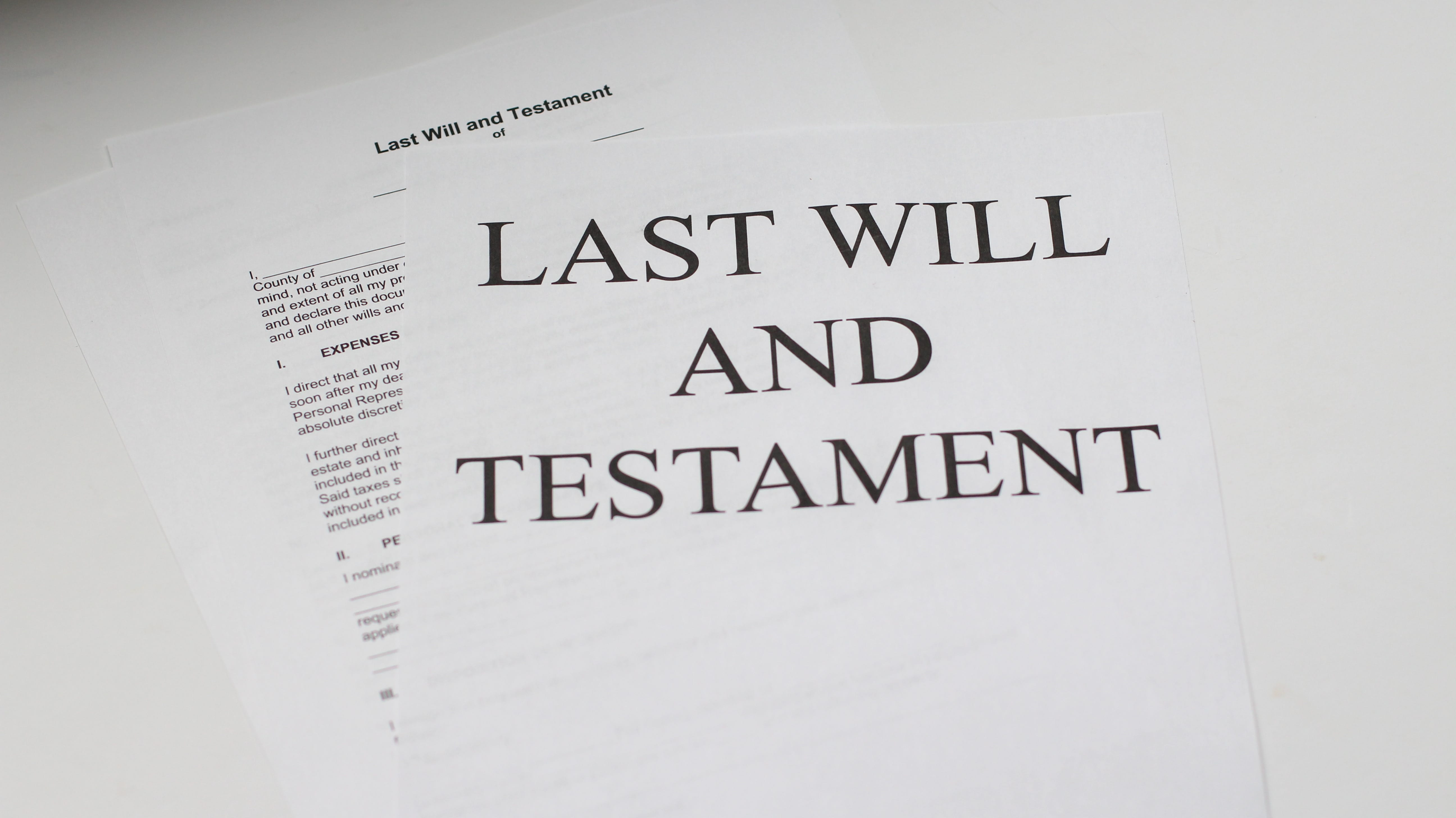 """Last Will and Testament;"" image by Melinda Gimpel, via Unsplash.com."
