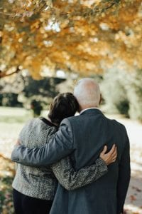 Man and woman holding each other; image by Ryan Crotty, via Unsplash.com.