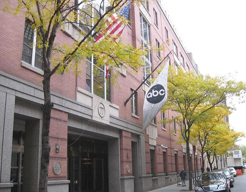 ABC Corporate Headquarters in Manhattan, New York