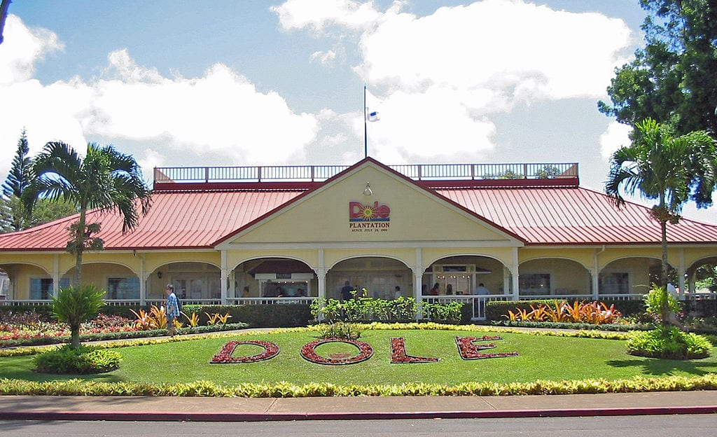 Dole Plantation on Oahu, Hawaii