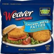 Recalled Tyson chicken breast patties