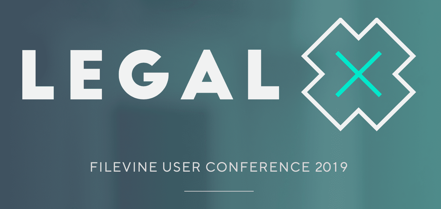 Legal X 2019 Filevine Users Conference; image courtesy of Legal X.