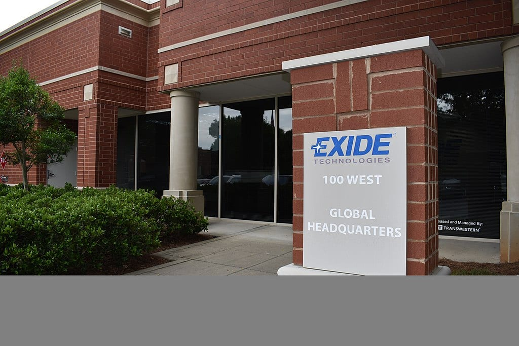 Exide's Milton office and global headquarters