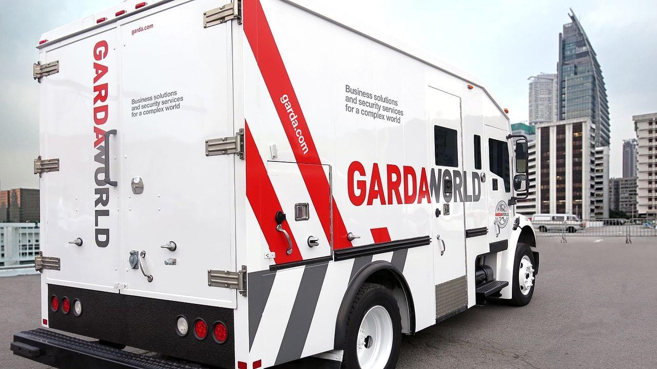 GardaWorld Armoured Truck