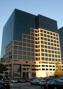 NJ Transit headquarters in Newark, NJ.