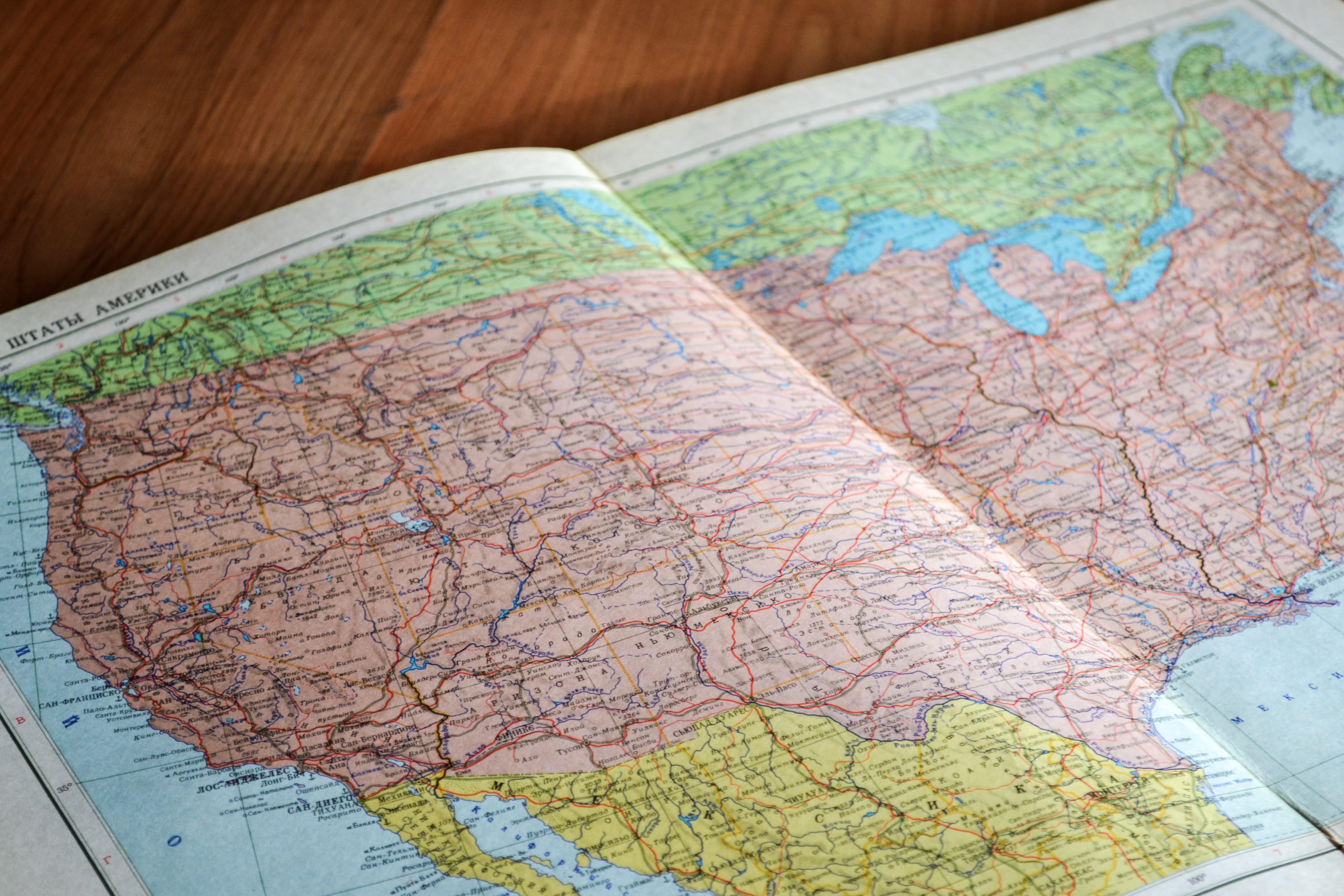 Atlas of the United States; image by John-Mark Smith, via Unsplash.com.