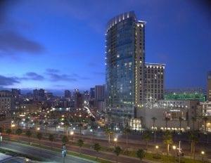 An Omni Hotel in San Diego, CA