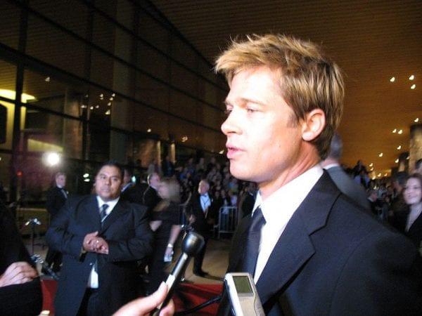 Brad Pitt in 2007