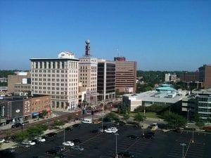 Downtown Flint, MI