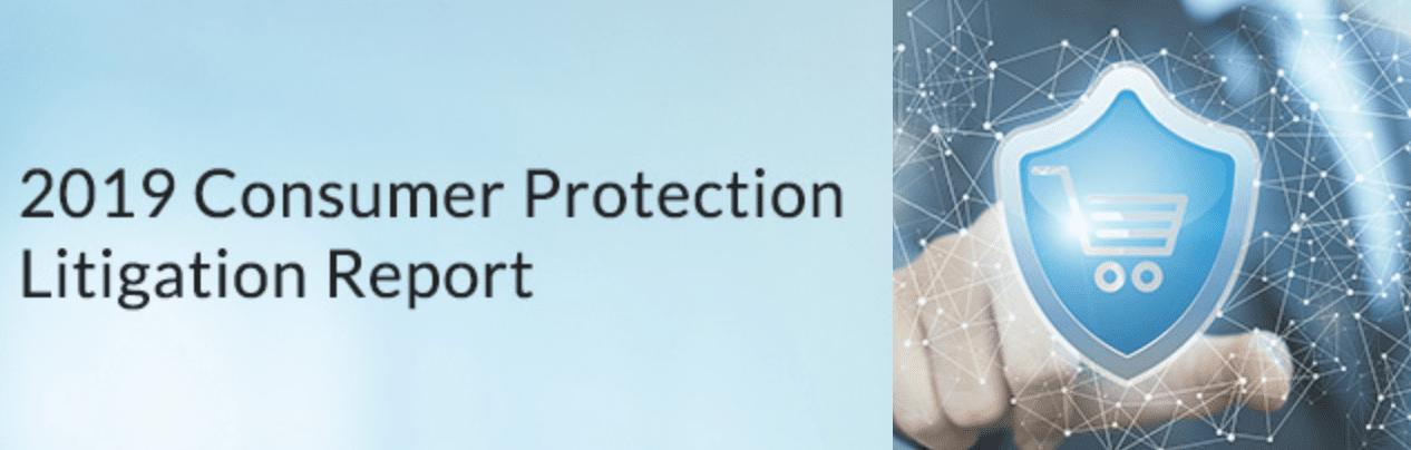 2019 Consumer Protection Litigation Report; image courtesy of Lex Machina.