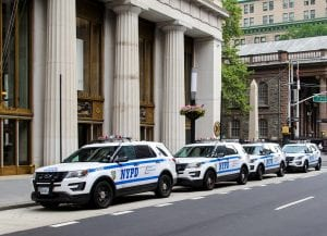 NYPD vehicles