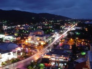 Saipan at night