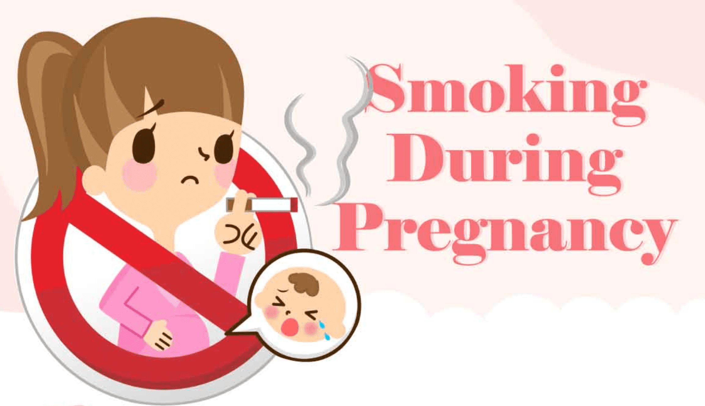 Smoking During Pregnancy; graphic courtesy of ChildMode.