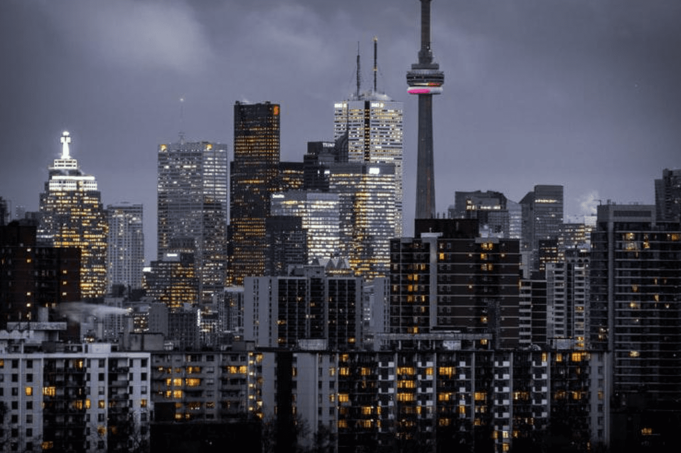 Toronto skyline; image by Zia Syed, via Unsplash.com.